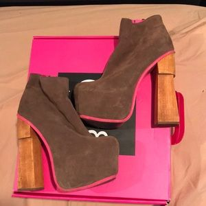 Dolce Vita Brown Suede Heeled Boot